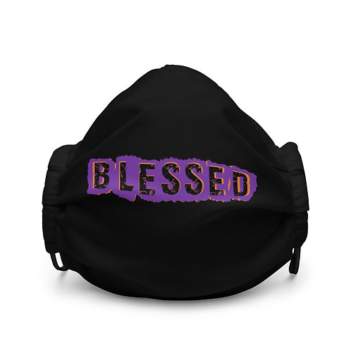 LUSU Designs Premium Face Mask Blessed Sun Valley Label