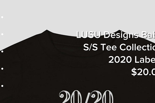 LUSU Designs Baby S/S Tee Collection 2020 Label I