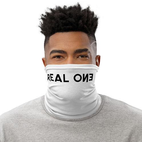 LUSU Designs Neck Gaiter Real One Label II
