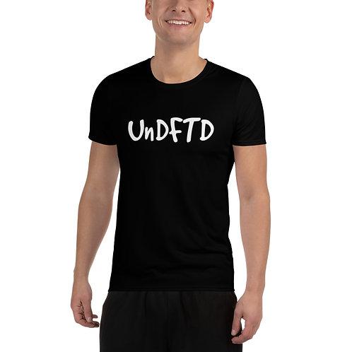 LUSU Designs Men's Athletic T-shirt UnDFTD Blanco Label I