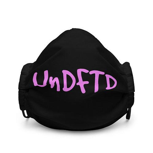 LUSU Designs Premium Face Mask UnDFTD Flamingo Label I