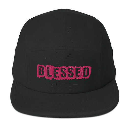 LUSU Designs 5 Panel Camper Collection Blessed Flamingo Label