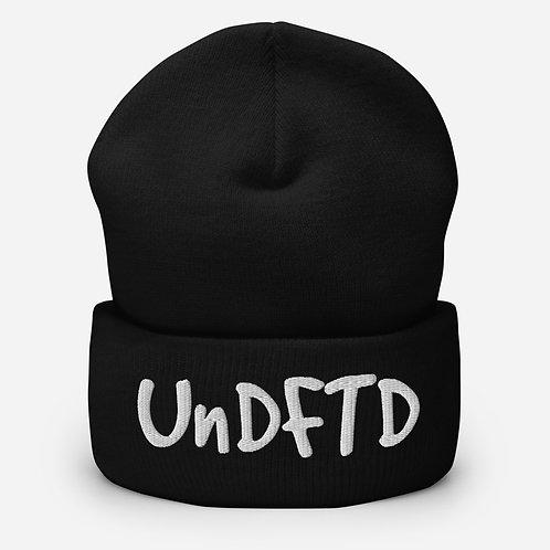LUSU Designs Cuffed Beanie Collection UnDFTD Blanco Label