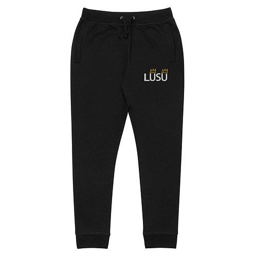 LUSU Deisgns Unisex Skinny Joggers LUSU Blanco Label I
