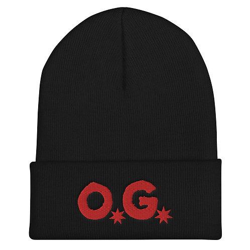 LUSU Designs Cuffed Beanie Collection O.G Fire Label