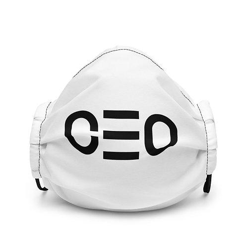 LUSU Designs Premium Face Mask CEO Noir Label