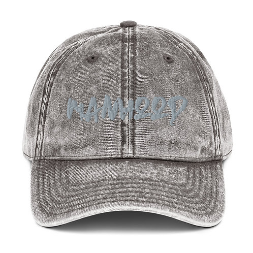 LUSU Designs Vintage Cotton Twill Cap Collection Manhood Platinum Label