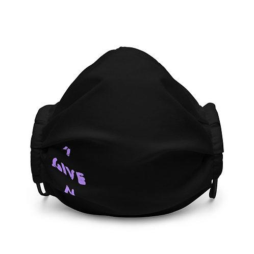 LUSU Designs Premium Face Mask 4GIVEN Purple Label II