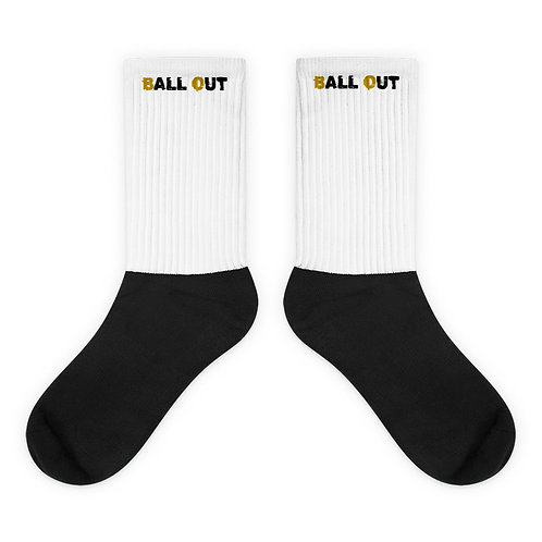 LUSU Designs Sock Collection Ball Out Label III