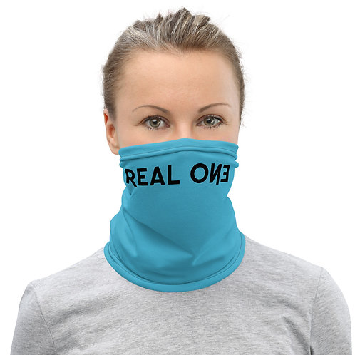 LUSU Designs Neck Gaiter Real One Label VI