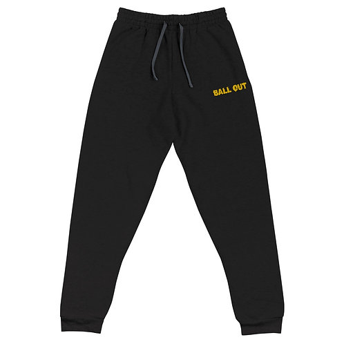 LUSU Designs Unisex Joggers Collection Ball Out Midas Label I