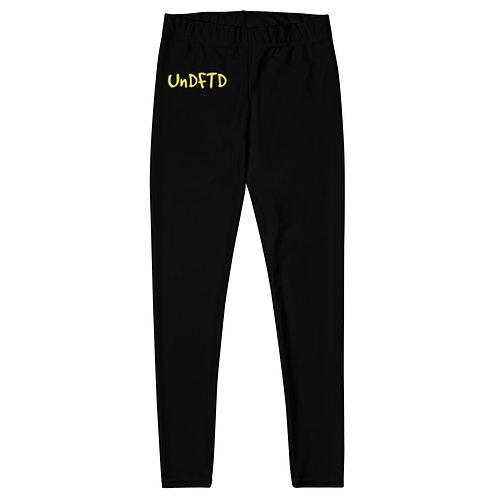 LUSU Designs Women's Leggings UnDFTD Canary Label I