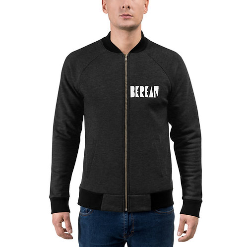 LUSU Designs Bomber Jacket Collection Berean Blanco Label