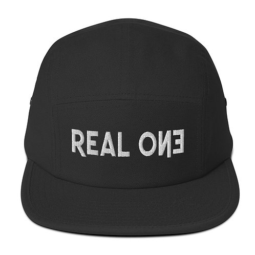 Vital Essence Five Panel Cap Collection Real One Blanco Label