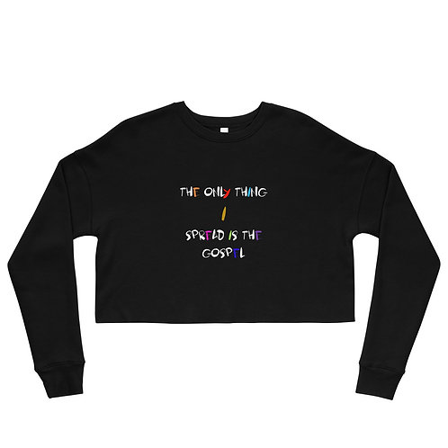 LUSU Designs Crop Sweatshirt Collection Gospel II Label I