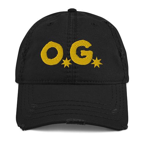 LUSU Designs Distressed Dad Hat Collection OG Midas Label