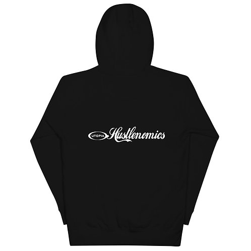 LUSU Designs Unisex Hoodie Collection Hustlenomics 1 Label IV