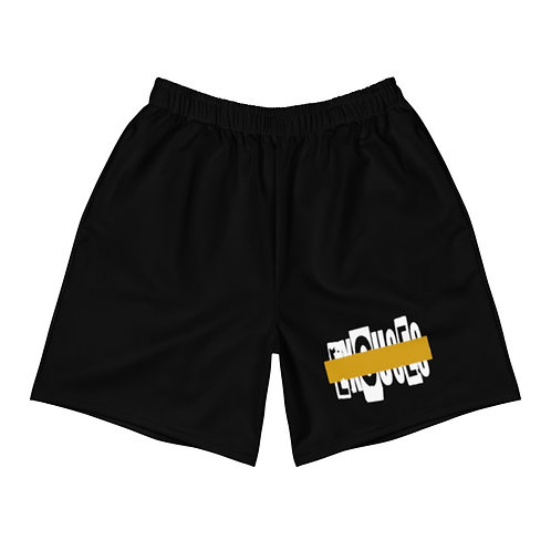 LUSU Designs Men's Athletic Long Shorts Collection Results Fire Label VI