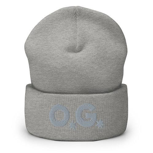 LUSU Designs Cuffed Beanie Collection O.G Platinum Label