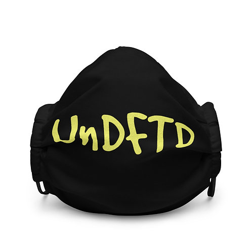 LUSU Designs Premium Face Mask UnDFTD Canary Label I