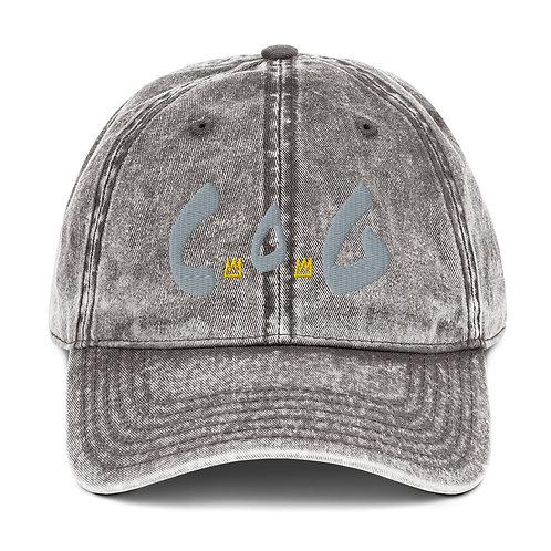 LUSU Designs Vintage Cotton Twill Cap Collection Child of God Platinum Label