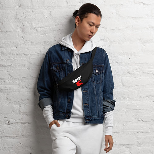 LUSU Designs Fanny Pack Collection Born Ready Blanco Label