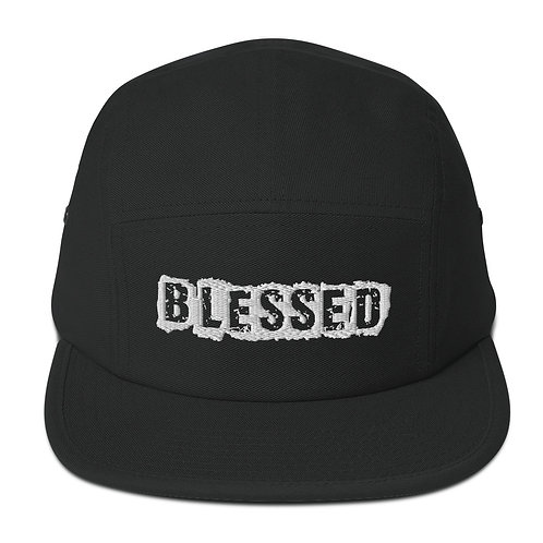 LUSU Designs 5 Panel Camper Collection Blessed Blanco Label