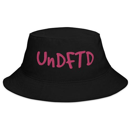 LUSU Designs Bucket Hat Collection UnDFTD Flamingo Label