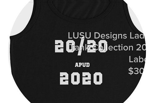 LUSU Designs Ladies' Tank Collection 2020 Label II