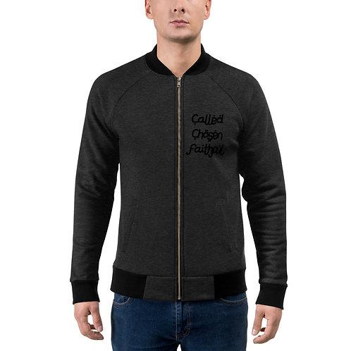 LUSU Designs Bomber Jacket Collection Called Chosen Faithful Noir Label