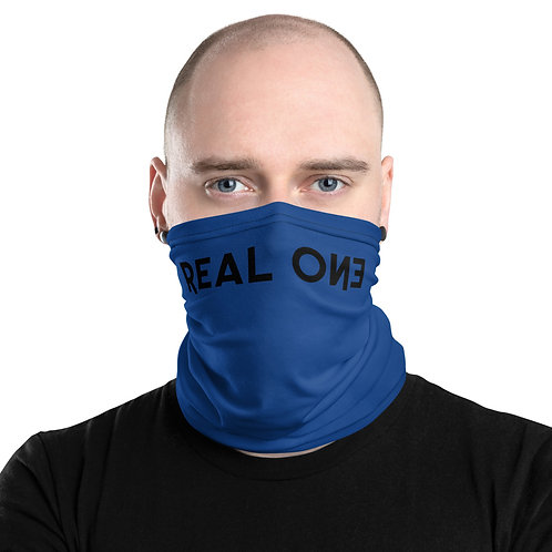 LUSU Designs Neck Gaiter Real One Label V
