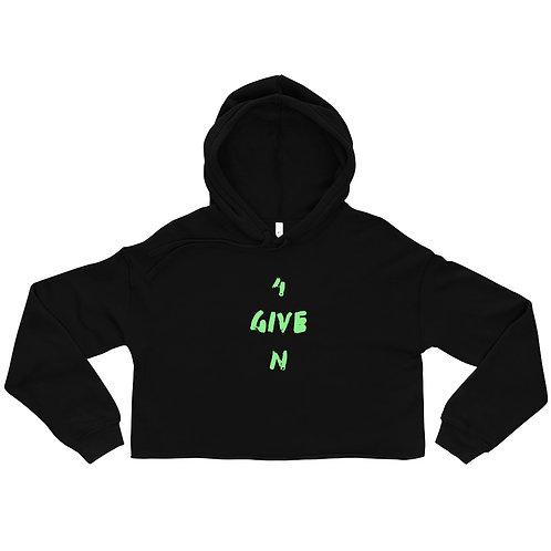 LUSU Designs Crop Hoodie Collection 4GIVEN Kiwi Label