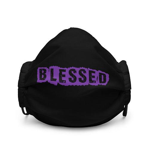 LUSU Designs Premium Face Mask Blessed Purple Label I