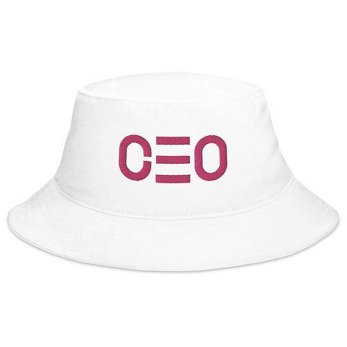Vital Essence Bucket Hat Collection CEO Flamingo Label