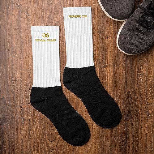 LUSU Designs Sock Collection Fatherhood OG Personal Trainer Midas Label III