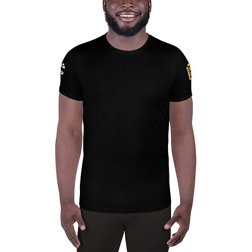 LUSU Designs Men's MaxDri Athletic T-shirt Results Midas Label III