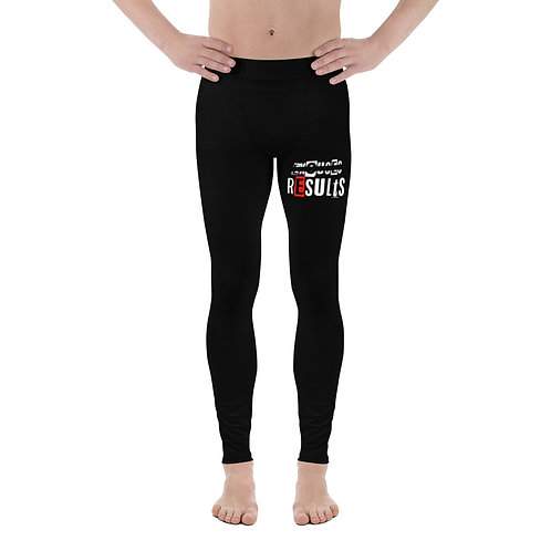 LUSU Designs Men's Leggings Results Fire Label II