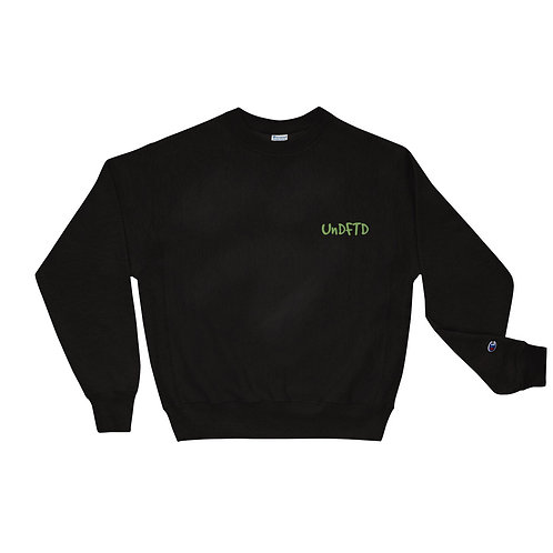 LUSU Designs Champion Sweatshirt Collection UnDFTD Kiwi Label II