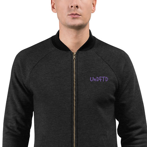 LUSU Designs Bomber Jacket Collection UnDFTD Purple Label