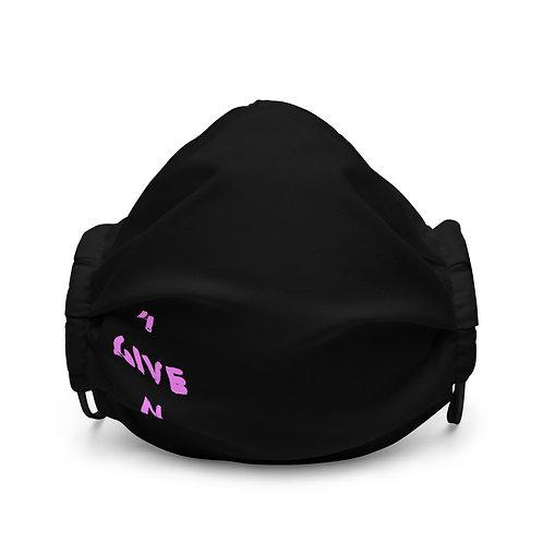 LUSU Designs Premium Face Mask 4GIVEN Flamingo Label II