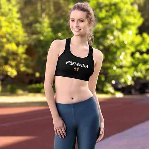 LUSU Designs Padded Sports Bra Collection PER4M Midas Label I