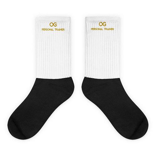 LUSU Designs Sock Collection Fatherhood OG Personal Trainer Midas Label II