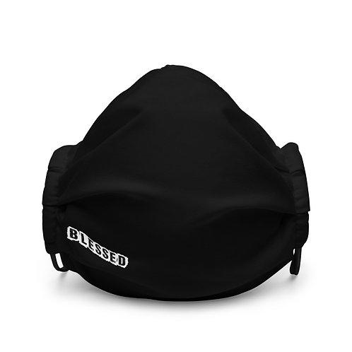 LUSU Designs Premium Face Mask Blessed Blanco Label II