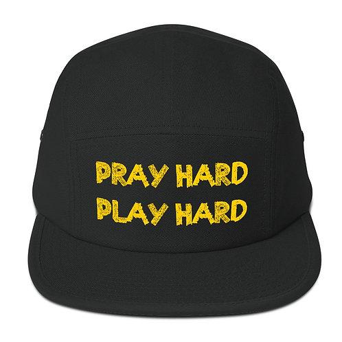 LUSU Desigs 5 Panel Camper Collection Pray Hard Play Hard Midas Label