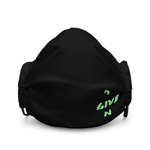 LUSU Designs Premium Face Mask 4GIVEN Kiwi Label III