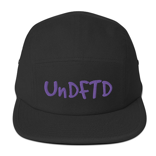 LUSU Designs Five Panel Cap Collection UnDFTD Showtime Label