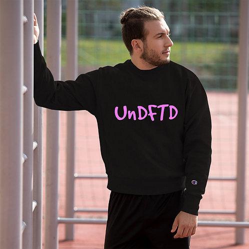 LUSU Designs Champion Sweatshirt Collection UnDFTD Flamingo Label