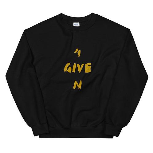 LUSU Designs Unisex Sweatshirt Collection 4GIVEN Midas Label