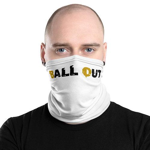 LUSU Designs Neck Gaiter Ball Out Midas Blanco Label II