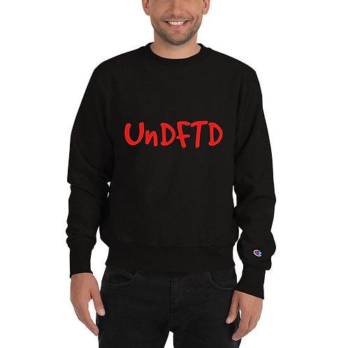 LUSU Designs Champion Sweatshirt Collection UnDFTD Fire Label